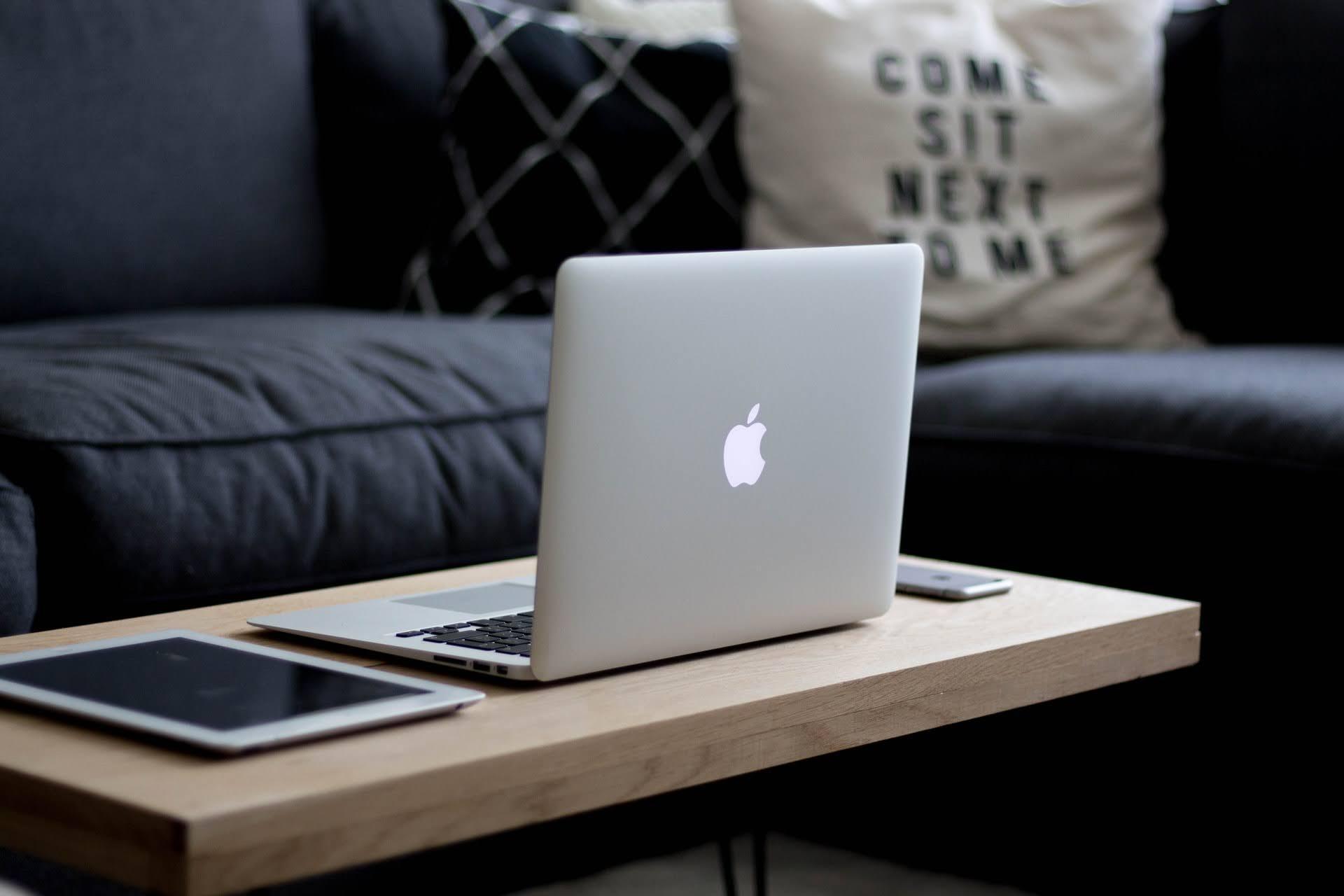 MacBook、iPad、iPhone