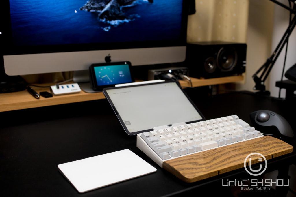 HHKB Professional HYBRID Type-s/白、iMac27インチ、iPad Pro